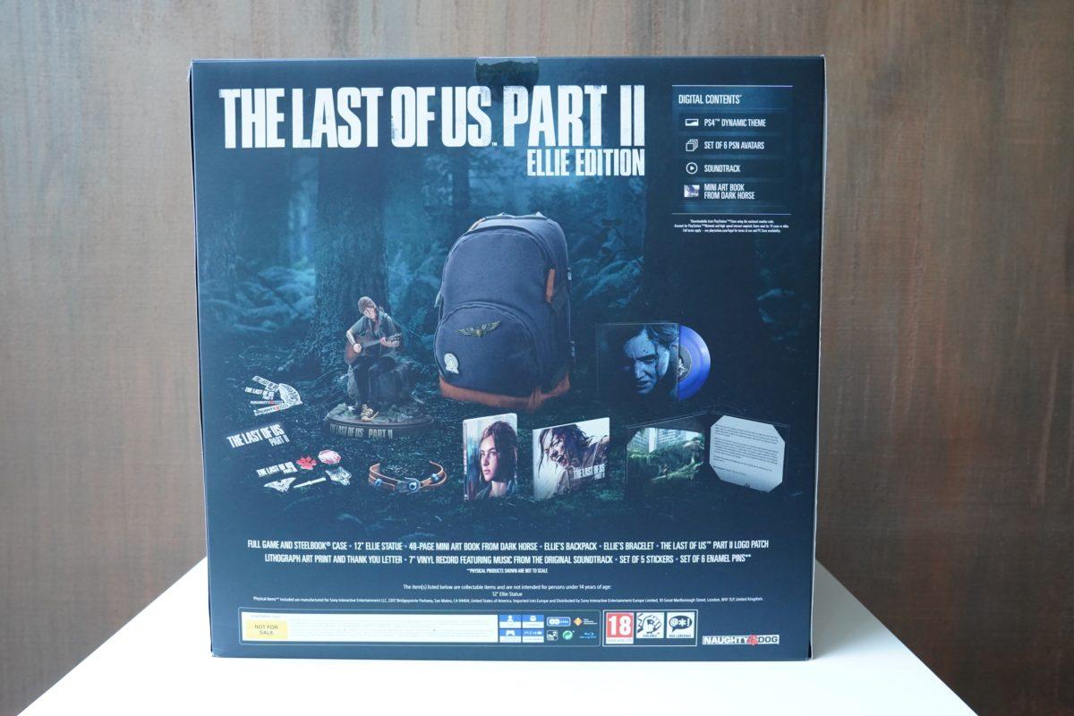 The Last of Us Part II Ellie Edition - unboxing limitowanej edycji kolekcjonerskiej! 6 the last of us part ii
