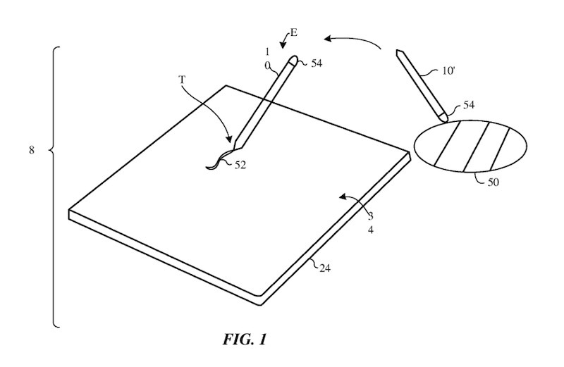 Patent Apple Pencil