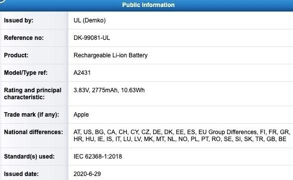 Wiemy, jaką pojemność będą miały baterie w iPhone'ach 12. Małe rozczarowanie 20