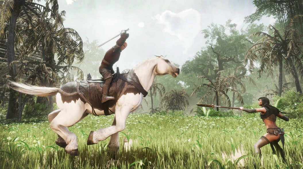 Epic Games Store wycofał się z udostępnienia gry Conan Exiles. Zamiast tego dostaliśmy Hue 18