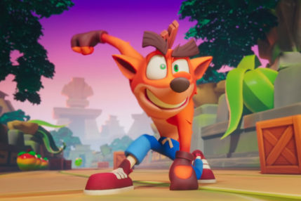 Crash Bandicoot On the Run