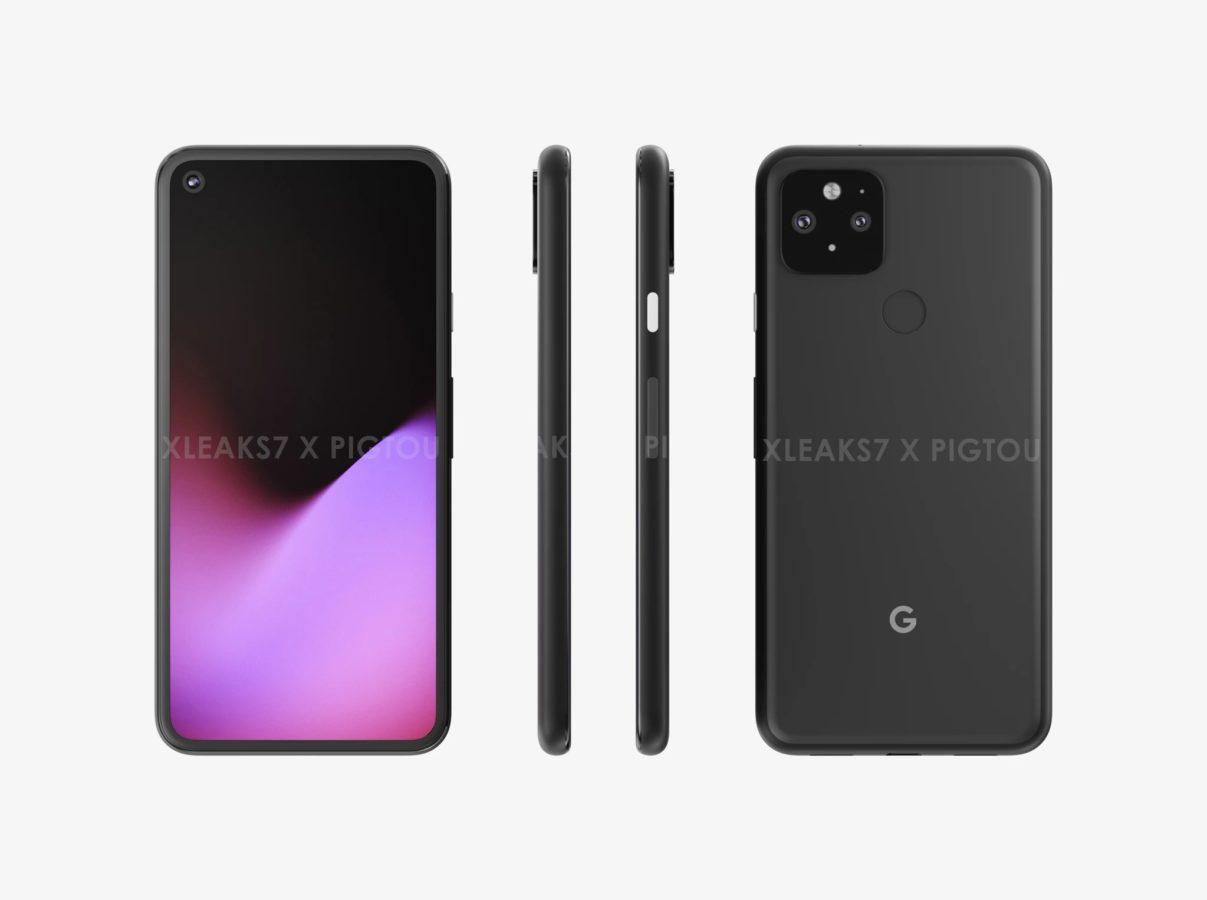 Tak podobno ma wyglądać Google Pixel 5. Wolę ten design od poprzedniego