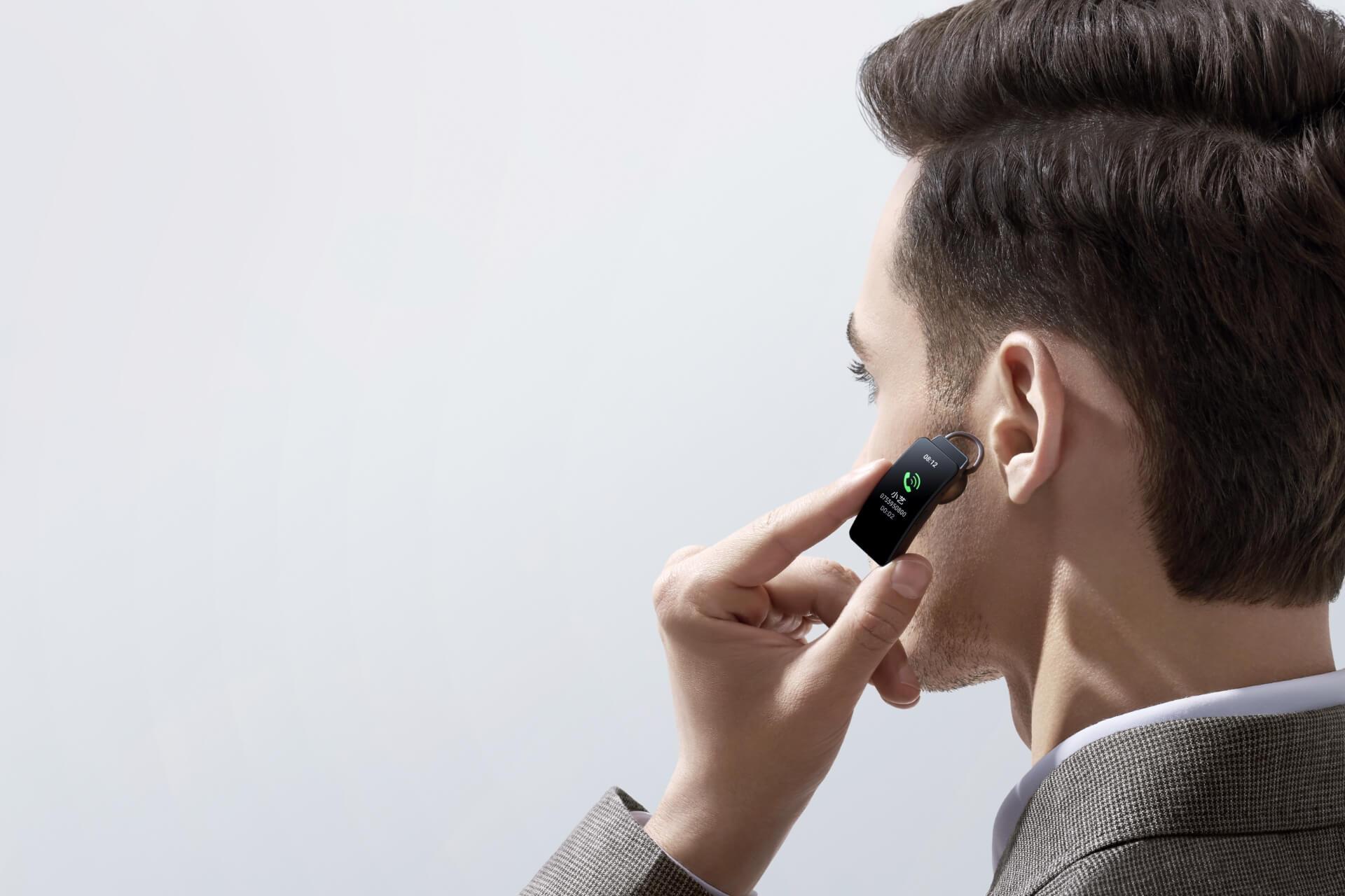 opaska słuchawka Bluetooth Huawei Band B6 headset