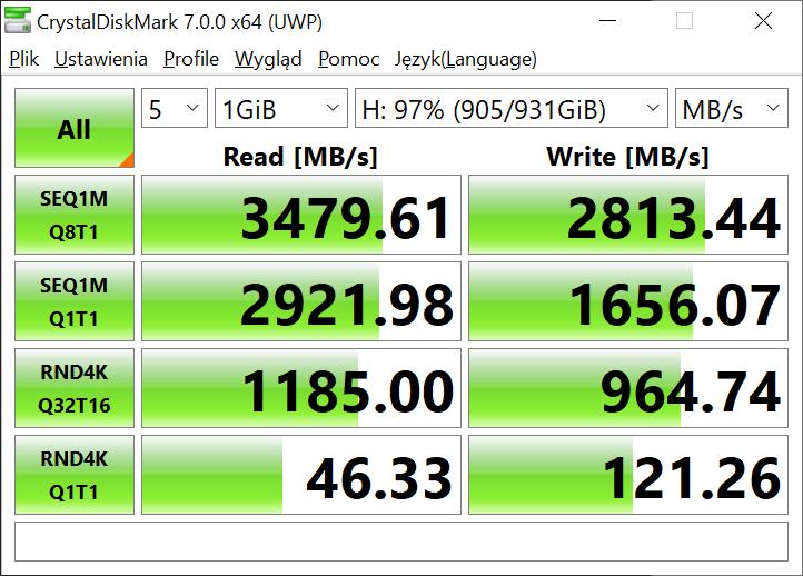Dysk SSD Kingston KC2500 - wysoka wydajność w dobrej cenie (recenzja) 29