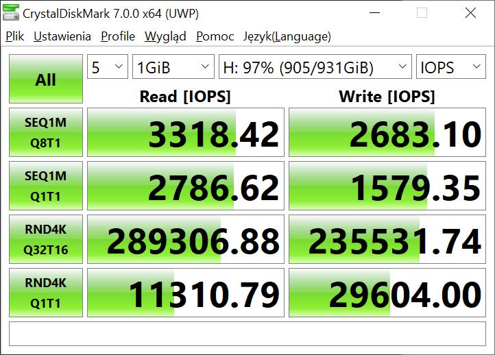 Dysk SSD Kingston KC2500 - wysoka wydajność w dobrej cenie (recenzja) 30