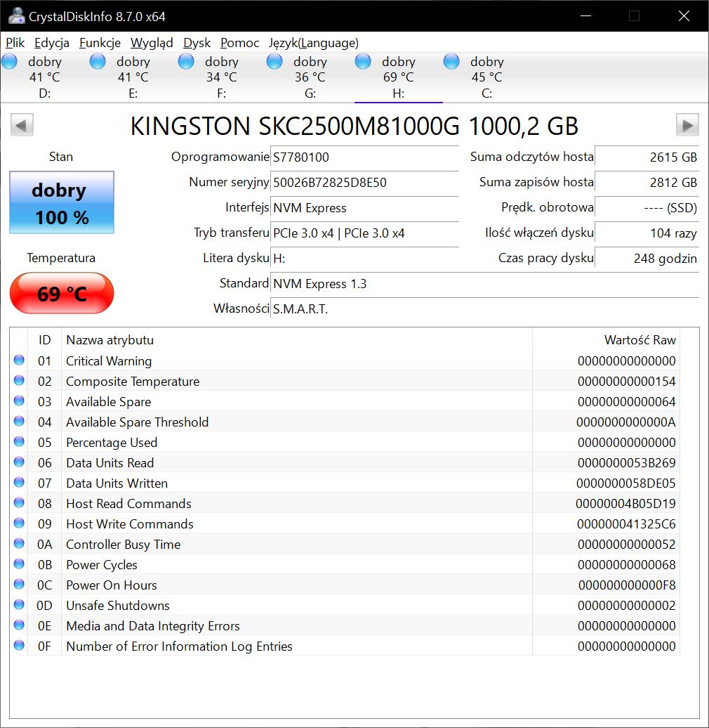 Dysk SSD Kingston KC2500 - wysoka wydajność w dobrej cenie (recenzja) 41