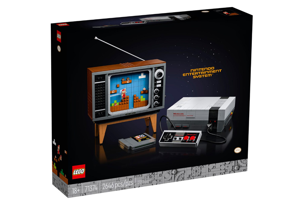 Bierzcie moje pieniądze! NES z klocków LEGO wygląda obłędnie! 19