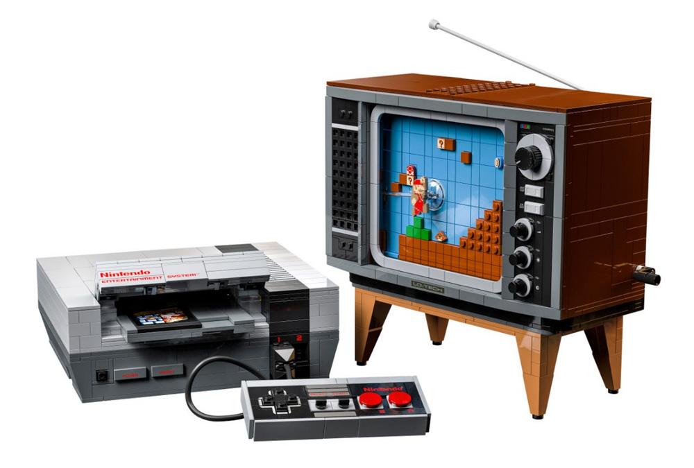 Bierzcie moje pieniądze! NES z klocków LEGO wygląda obłędnie! 21