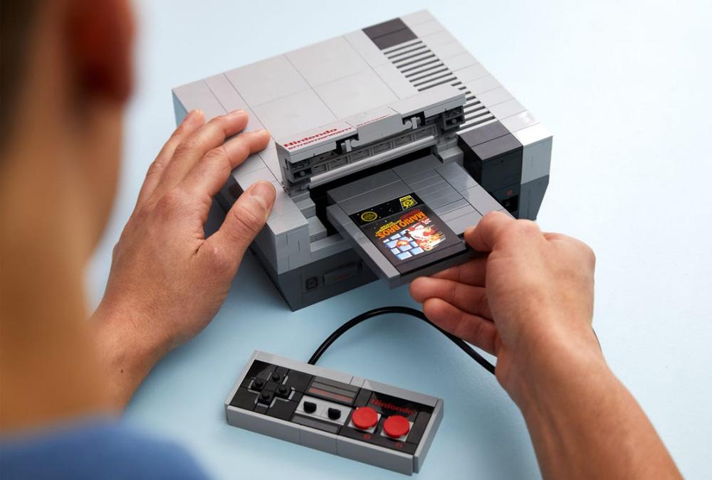 Bierzcie moje pieniądze! NES z klocków LEGO wygląda obłędnie! 20
