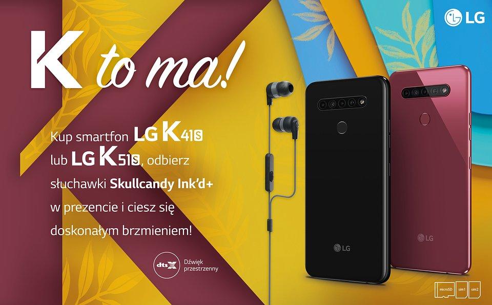 LG K41S LG K51S promocja
