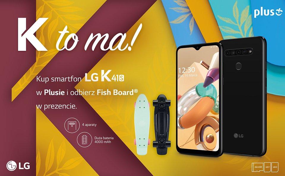 LG K41S promocja Plus