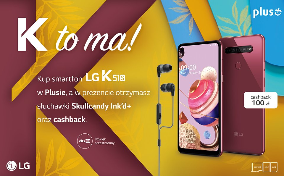 LG K51S promocja Plus