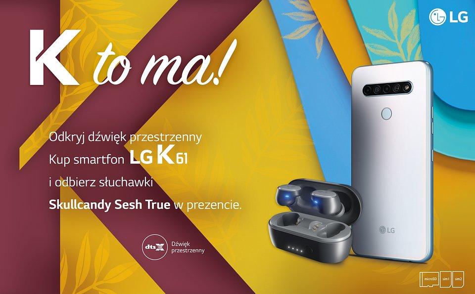 LG K61 promocja