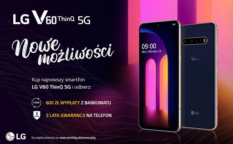 LG V60 ThinQ 5G promocja