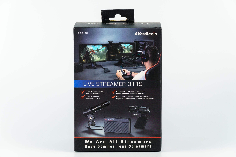 AverMedia Live Streamer 311S opakowanie