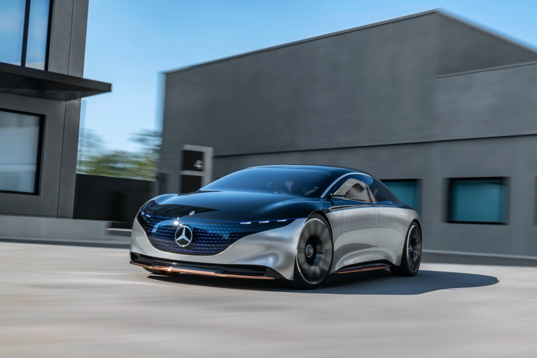 Mercedes EQS z większym zasięgiem niż Tesla. Zapowiada się nowy rekord 19 Mercedes EQS