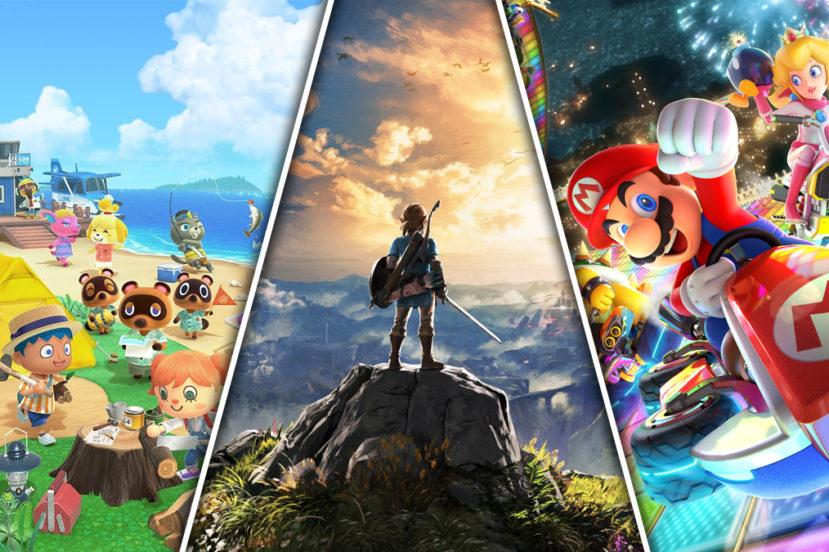 Nintendo Switch Najlepsze gry