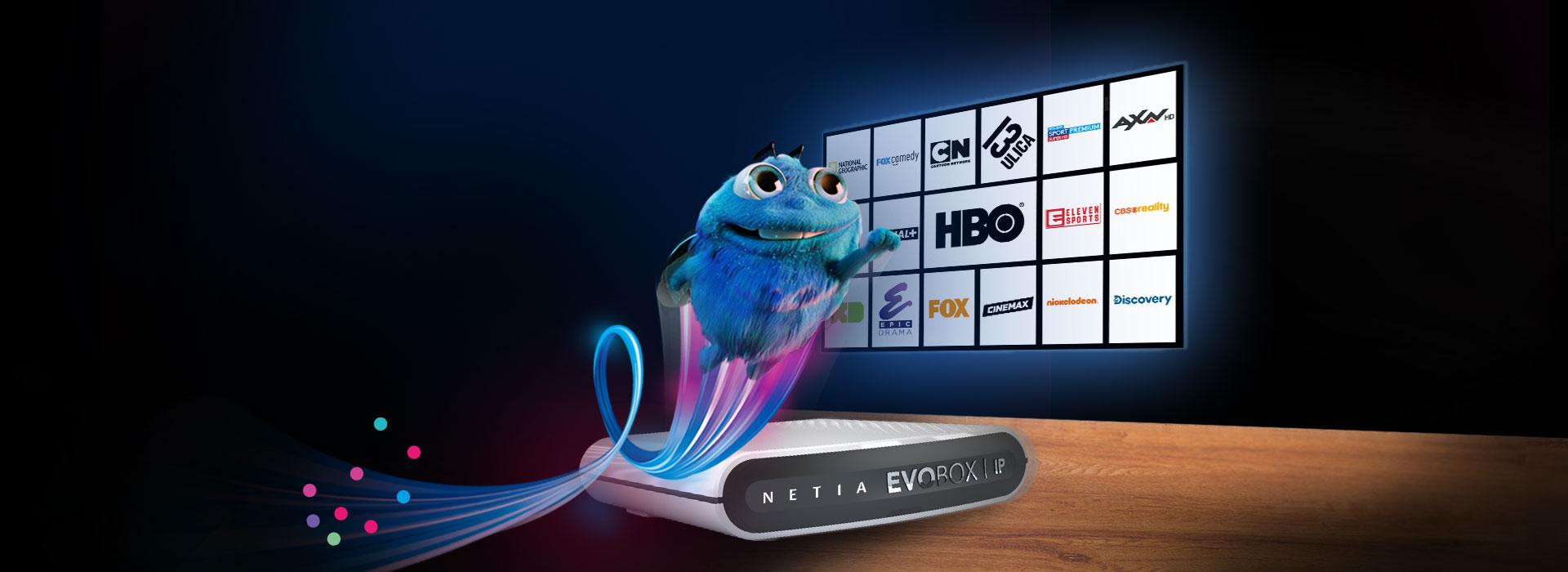 Netia nowa oferta pakiety telewizyjne