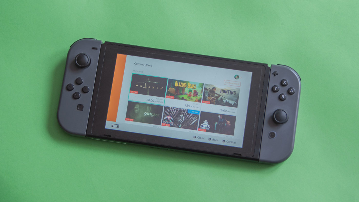 Nintendo Switch eShop Promocje
