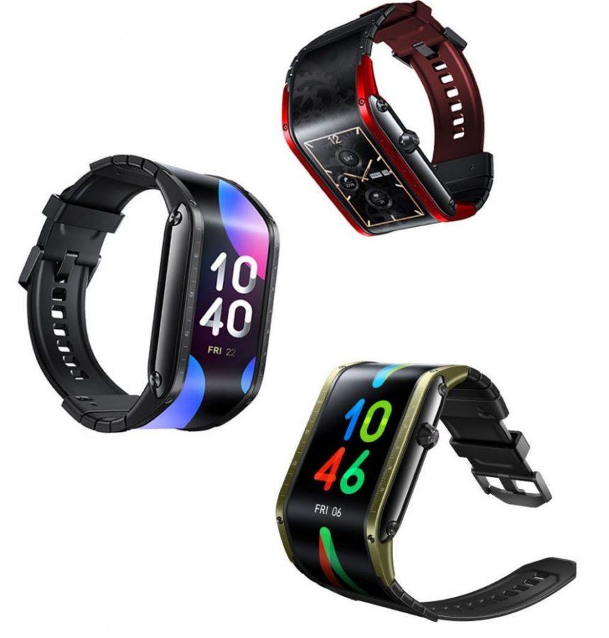 Nie ma sensu, ale jak wygląda! Opaska-smartfon Nubia Watch z elastycznym ekranem