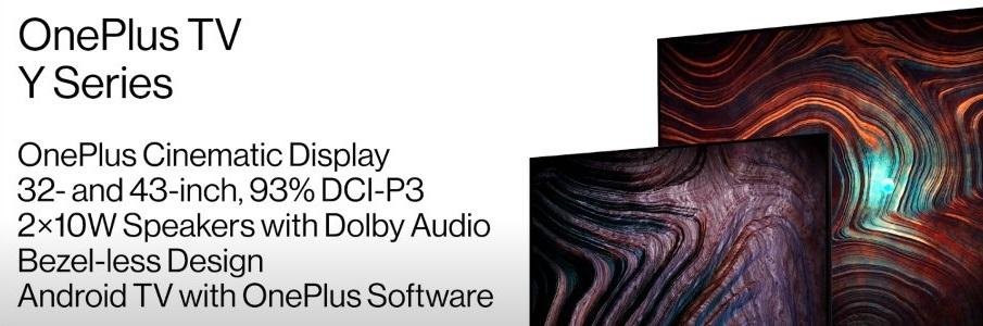 telewizor OnePlus TV 32Y1 i 43Y1