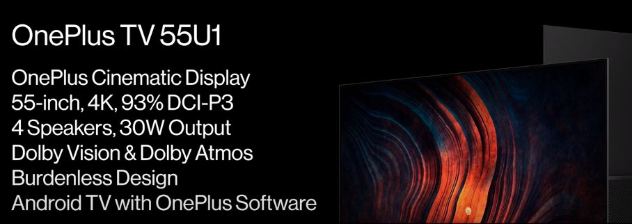 telewizor OnePlus TV 55U1