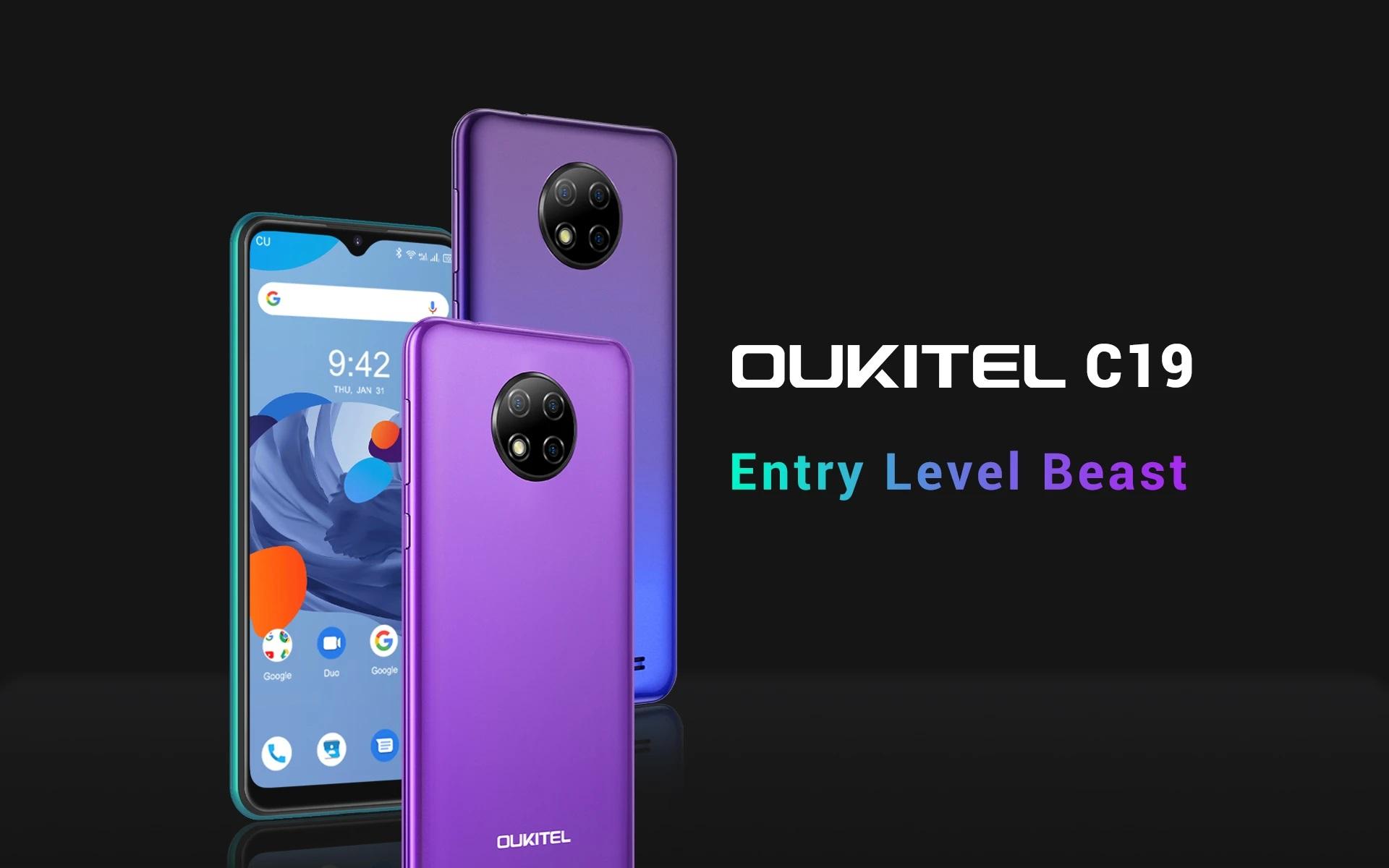 smartfon Oukitel C19