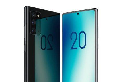 Samsung Galaxy Note 20 w wersji standardowej - aparat nie będzie tak perfidnie wystawał 20