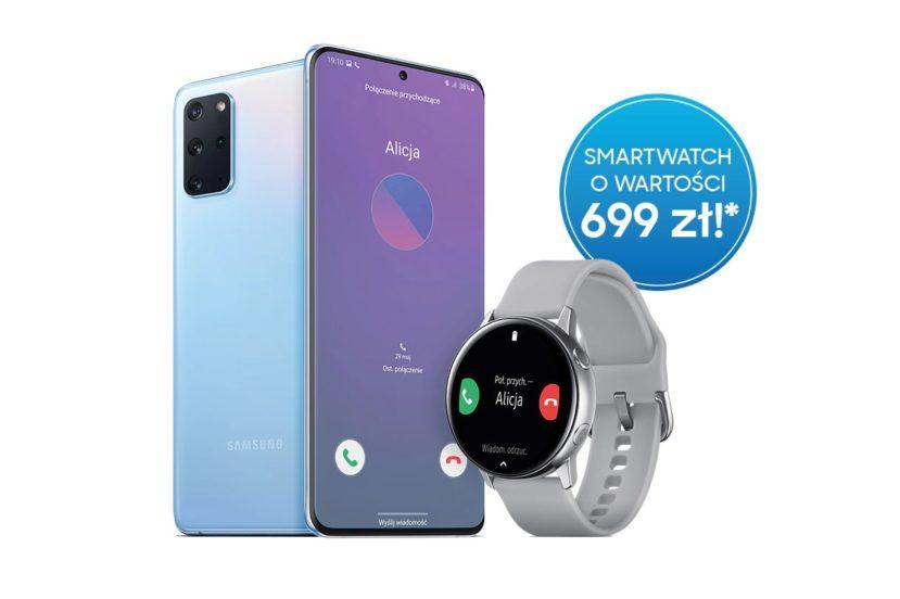 promocja Samsung Galaxy S20 Galaxy Watch Active 2 gratis