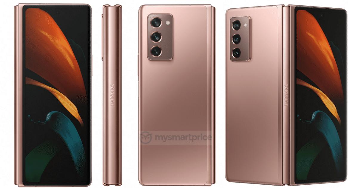 Samsung Galaxy Z Fold 2 Mystic Bronze