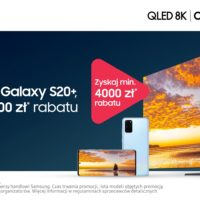 Samsung QLED 8K Galaxy S20+ promocja zestaw