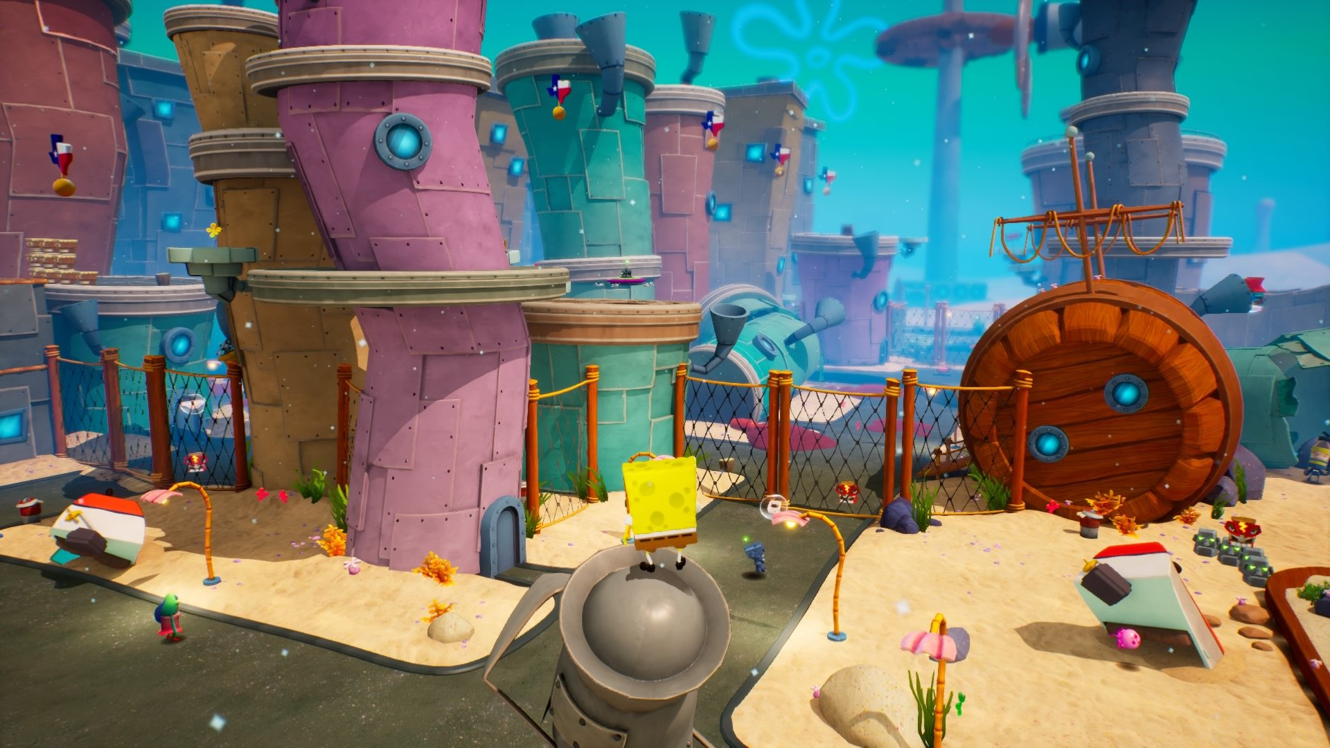 Recenzja SpongeBob SquarePants: Battle for Bikini Bottom - Rehydrated. Naprawdę udany tytuł nie tylko dla najmłodszych 21