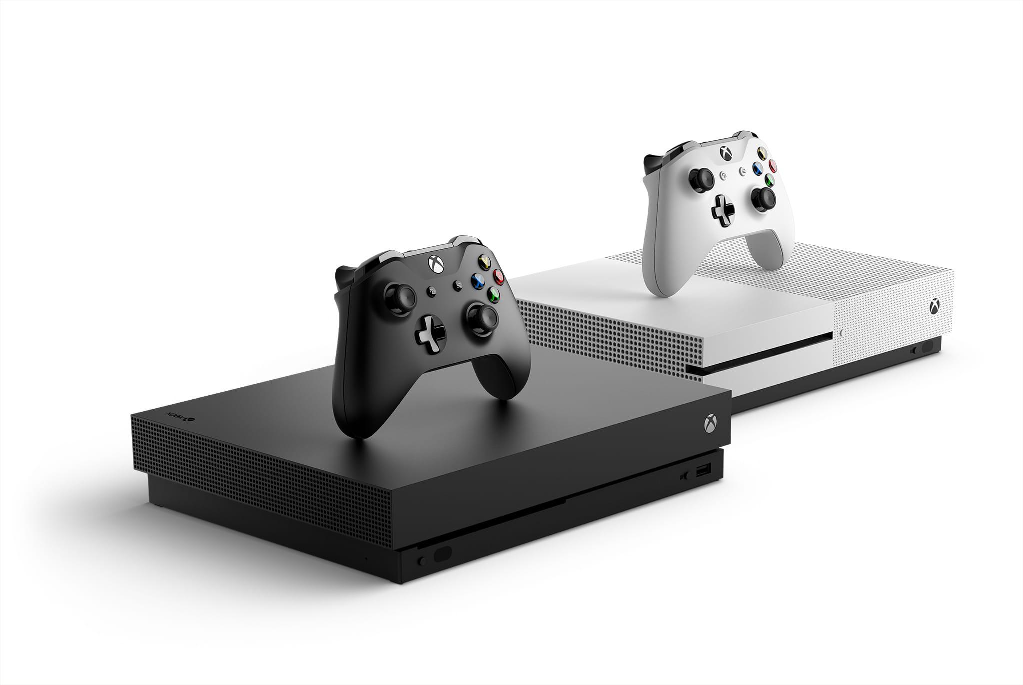 Xbox One X i Xbox One S