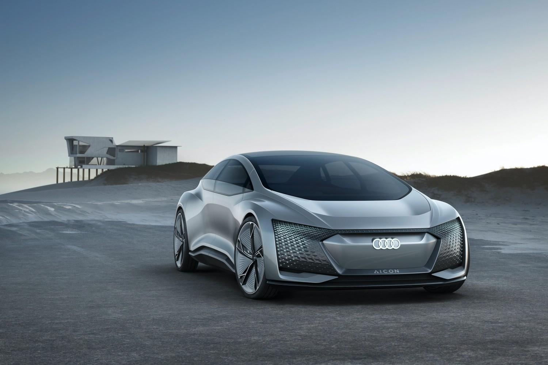 Elektryczne Audi.