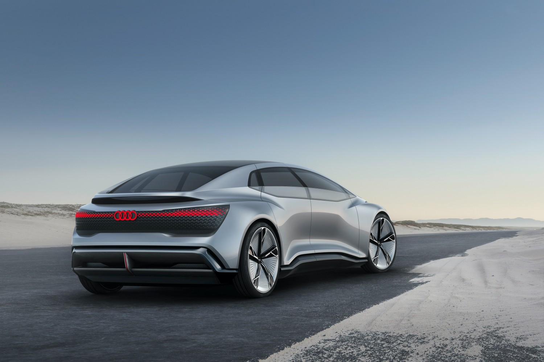 Koncepcyjny Aicon, czyli baza dla Audi A9 E-tron