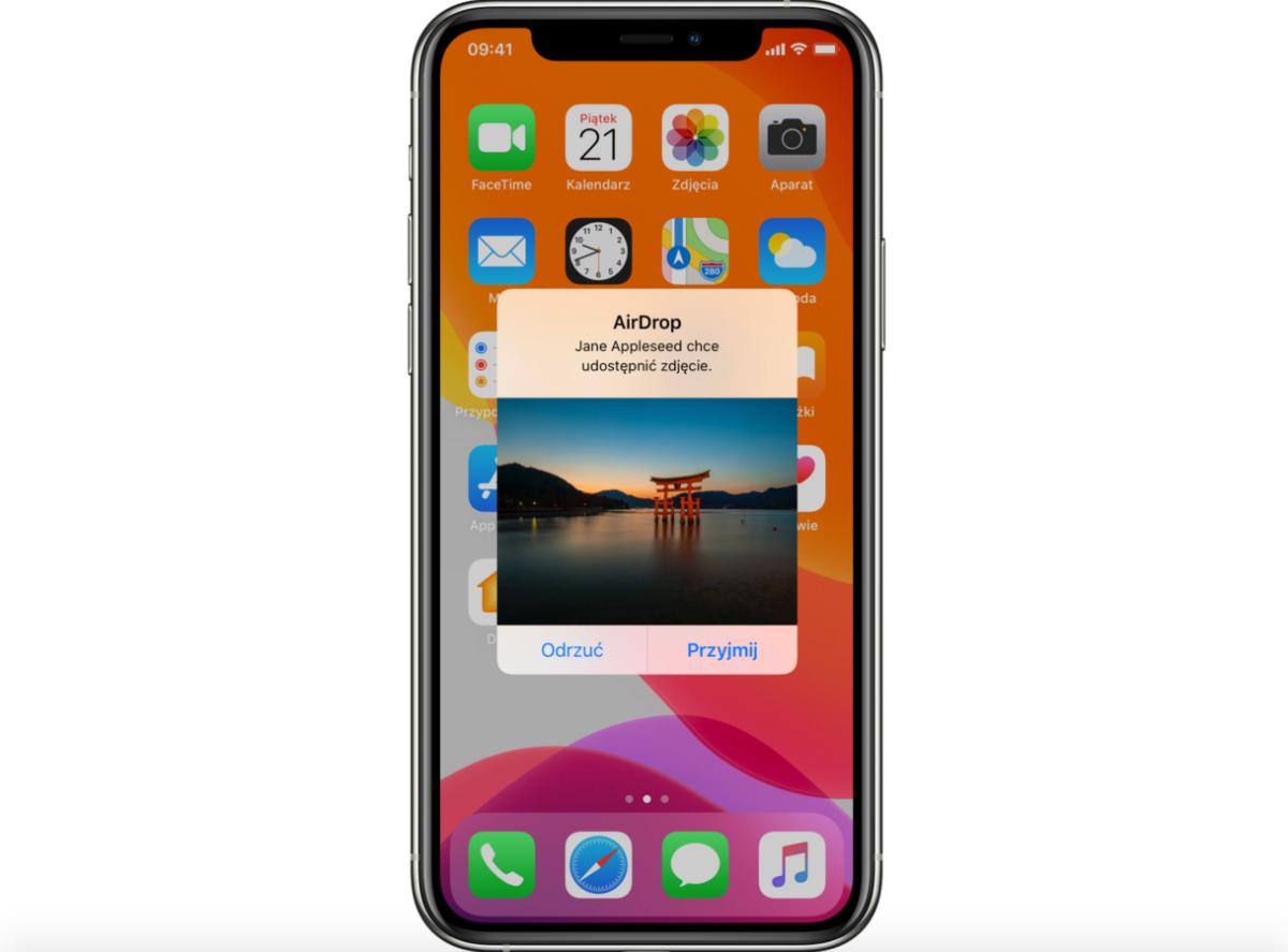 AirDrop ma wykorzystać laser. iPhone'y mogą zyskać szybkie wysyłanie plików 20 AirDrop