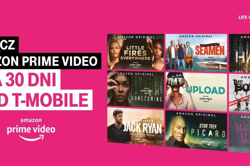 Miesiąc darmowego Amazon Prime Video oraz zniżka na zakup smartfona dla klientów T-Mobile 22
