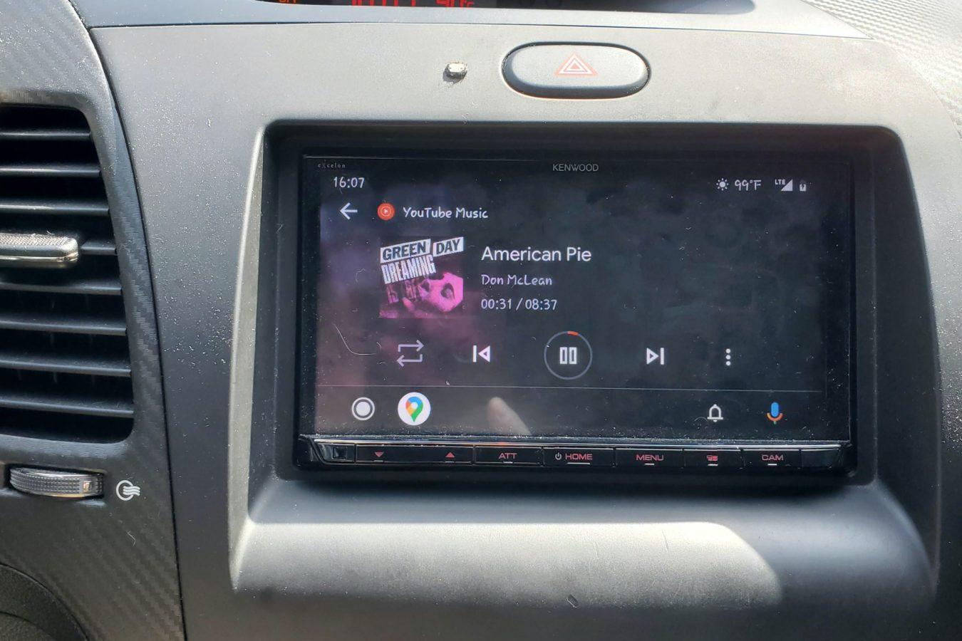 Android Auto – problem w aplikacji YouTube Music.