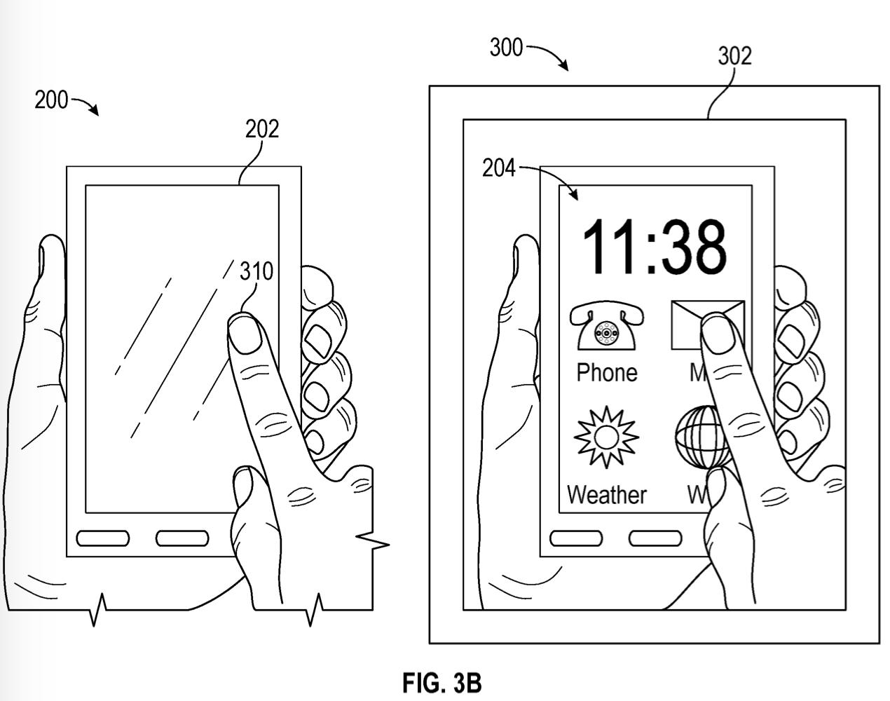 Patent Apple pokazujący wykorzystanie AR do ochrony prywatności.