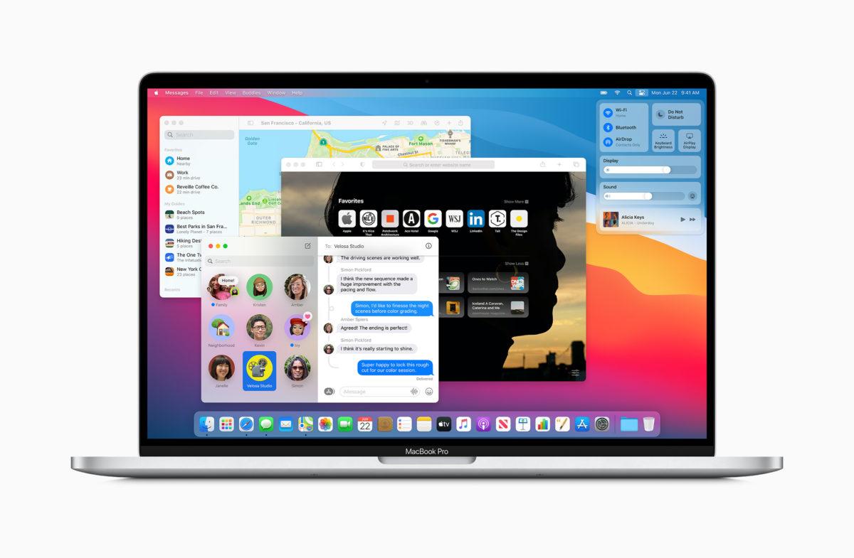 macOS Big Sur usprawni i przyspieszy instalowanie aktualizacji systemu