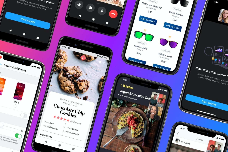 Messenger z funkcją udostępniania ekranu na Androidzie i iOS