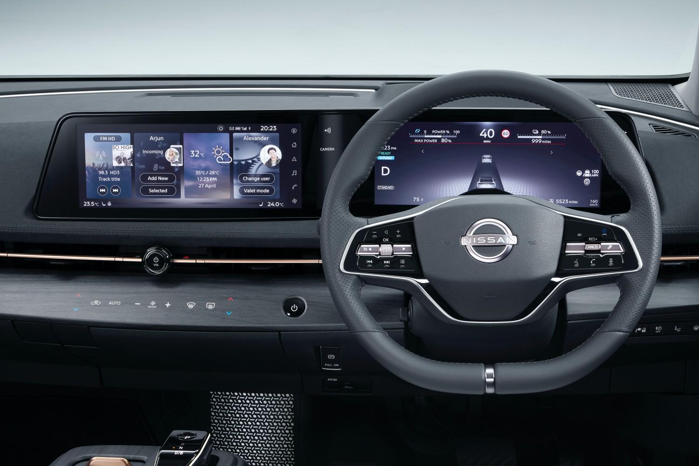 Nissan Ariya – w pełni elektryczny crossover.