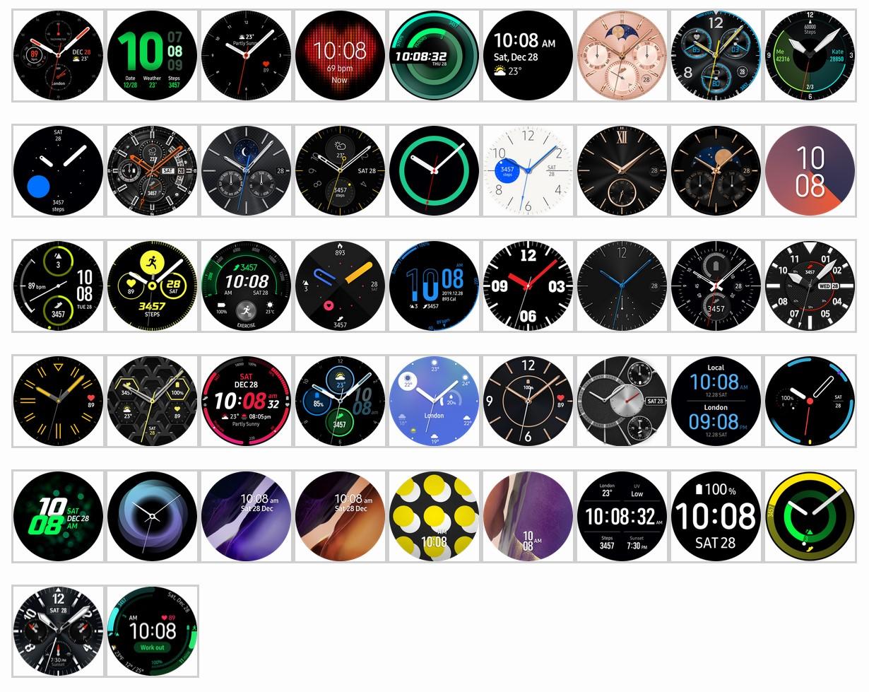 Galaxy Watch 3 tarcze