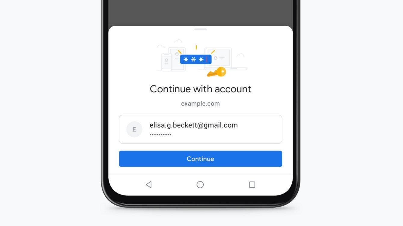 Google Chrome – nowy interfejs logowania.