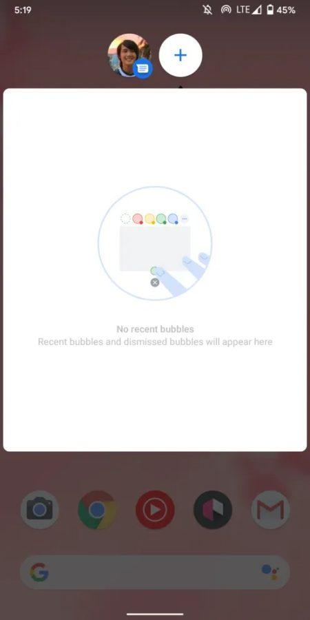 Bąbelki! Bąbelki aplikacji Wiadomości w testowym Androidzie 11 Beta już działają! 23