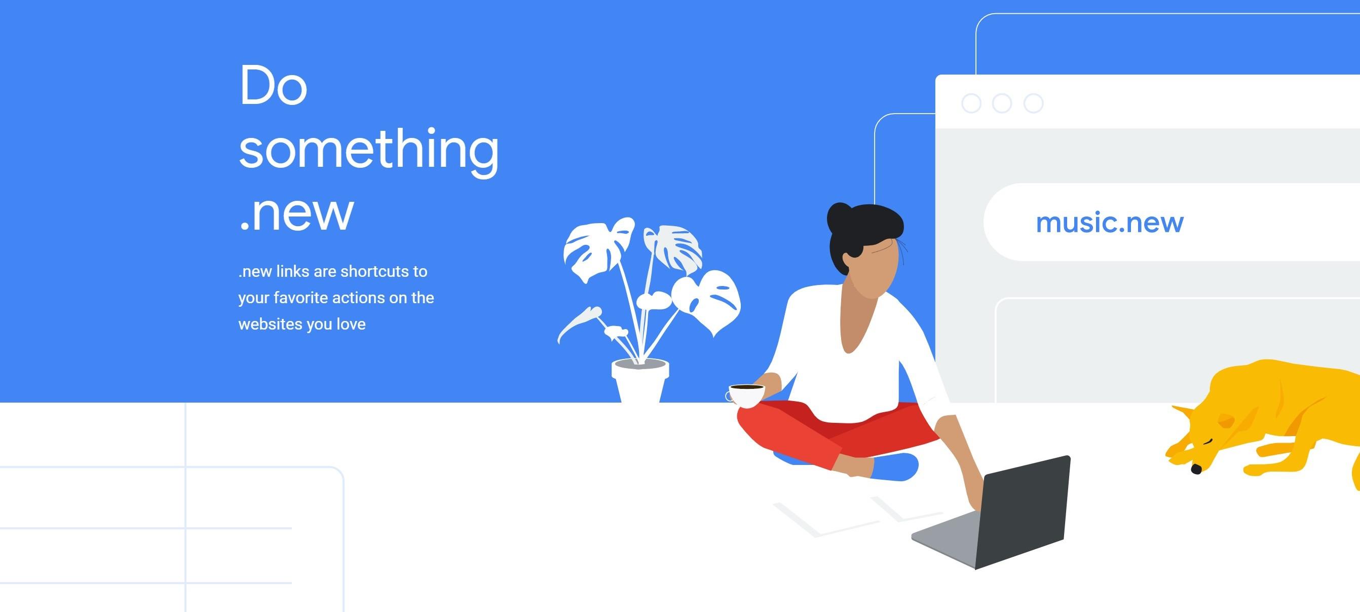Google błyskawicznie przeniesie cię na stronę, której potrzebujesz. Wpisz whats.new i sprawdź! 17 Google