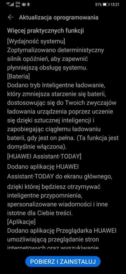Huawei udostępnia EMUI 10.1 dla Mate 20 Pro w Polsce. Prawie 5 GB do pobrania, ale warto