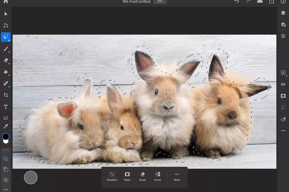 Photoshop na iPady zyskuje parę nowych opcji. Dosłownie, dwie 19