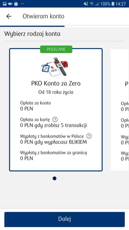 PKO BP - jak założyć konto na selfie?