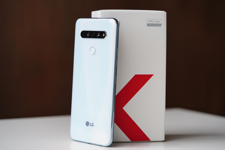 LG K61 wraz z pudełkiem